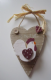 Cockerel & Hearts Design Wooden 'To Do List' Hanging Plaque. 61645